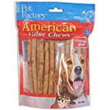 PET FACTORY 28750 Chicken Dog Roll, 40-Pack