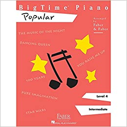 Faber Piano Adventures Bigtime Piano Level 4 Popular - Faber Piano Adventures Series: Varies