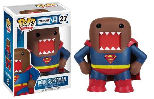 Domo Kun Mascot Costume (Funko Pop Heroes Domo Superman Vinyl Action Figure)