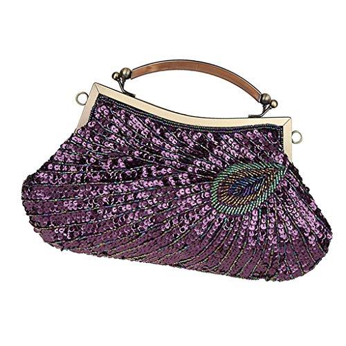 c1f3a04463 Paon Sac Violet Luxe De Pour Ipotch Femme motif T4aqx7S