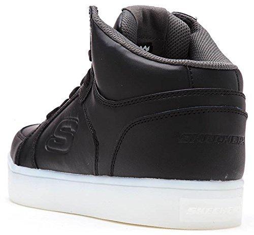 Skechers Kids Boys Energy Lights Sneaker,13.5 M Us Little Kid,black
