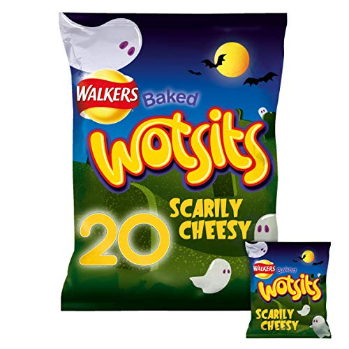 Walkers Wotsits Cheese Snacks, 16.5 g (Pack of 20)