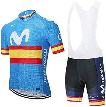 XIAKE Traje Equipacion Bicicleta Hombre, Jerseys Maillots Ciclismo ...