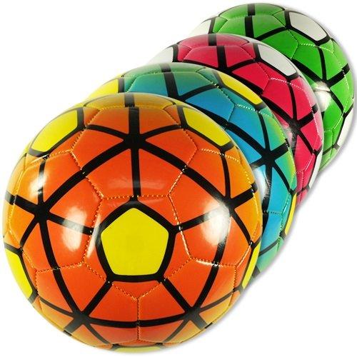 Soccer Ballsバルクインドア/アウトドア公式サイズno。5卸売ロット(パックof 12 ) B0797PGC6J