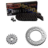 1999-2007 Suzuki Hayabusa GSX1300R O-Ring Chain and Sprocket Kit Black