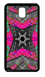 Samsung Note 3 Case Abstract Chevron Cool Background TPU Custom Samsung Note 3 Case Cover Black doudou's case