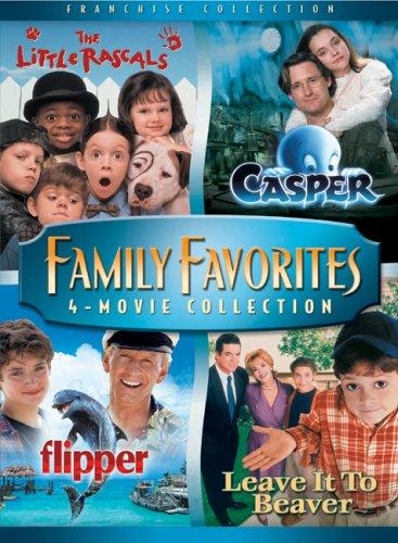 Family Favorites 4 Movie Collection (The Little Rascals / Casper / Flipper / Leave it to Beaver) (4 Film Favorites Stephen King)