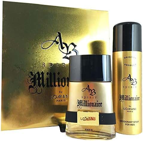 Lomani AB Spirit Millionaire Men's 2-piece Fragrance Gift Set