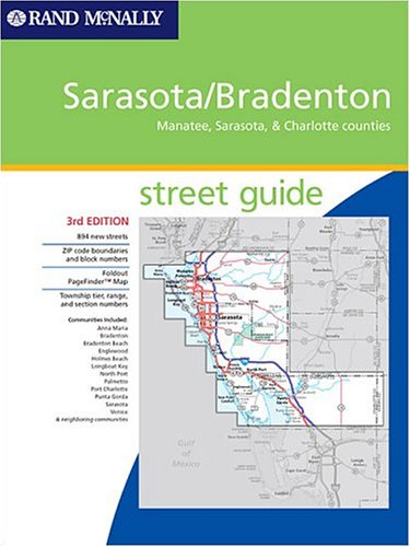 Rand mcnally 2007 tampast petersburg street guide including rand mcnally sarasota bradenton street guide manatee sarasota charlotte counties sciox Image collections