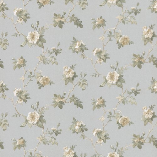 Wallpaper Mirage Floral (Mirage 986-56013 Magnolia Slate Trail Wallpaper)