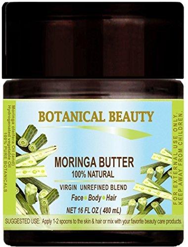 MORINGA BUTTER Natural UNREFINED Fl oz product image