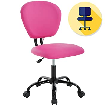 Surprising Ergonomic Office Chair Desk Chair Pu Leather Executive Chair Task Rolling Swivel Adjustable Stool Mid Back Computer Chair With Lumbar Support For Beatyapartments Chair Design Images Beatyapartmentscom