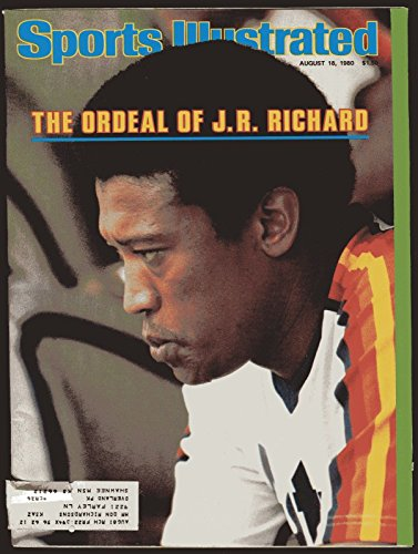 - SI: Sports Illustrated August 18, 1980 James Rodney Richard, Baseball, Astros VG