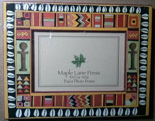MAPLE LANE PRESS 3 X 5 OR 4 x 6 PAPER PHOTO FRAME