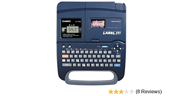 Casio Ez Label Printer Label It 6-18 Mm Kl-100 Manual Instructions Tested Tape
