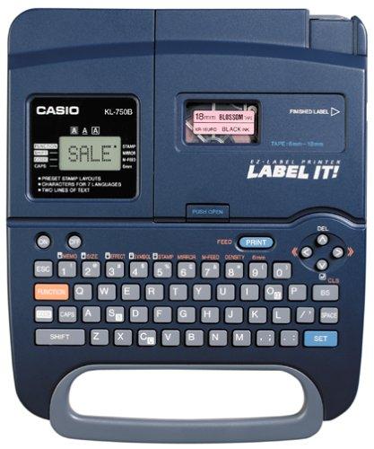 Dependable Casio Kl-100 Ez Label Printer Tape 6-18mm Office Equipment