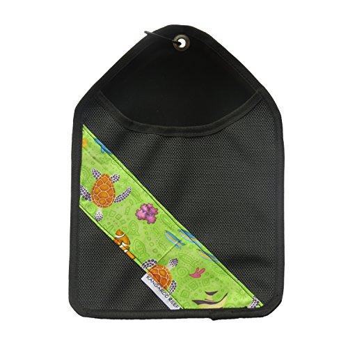 Black Reef Bag - Laundry Storage Cloths pin bag Black PVC (Black)