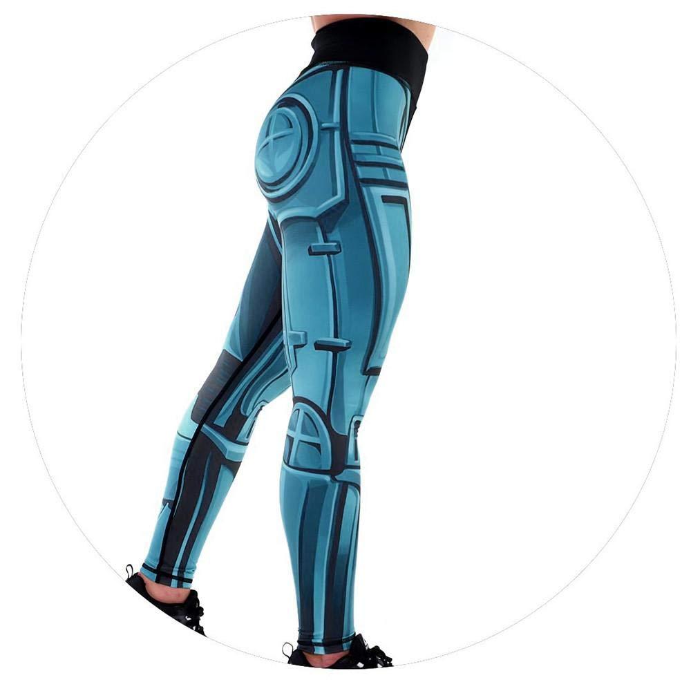 VJGOAL Moda Casual para Mujer Impresi/ón Digital Entrenamiento Yoga Leggings Fitness Deportes Gimnasio Correr Pilates C/ómoda Elasticidad Pantalones Deportivos