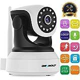 Wireless WiFi IP Security Camera - GENBOLT 1080P indoor Dog Baby Monitor Camera