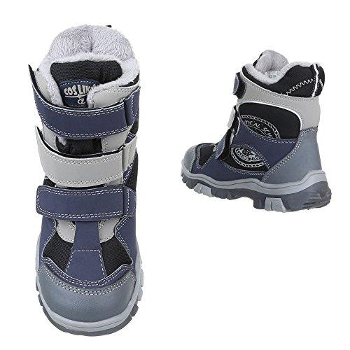 ItalDesign Stiefel Boots Kinder Schuhe Biker Boots