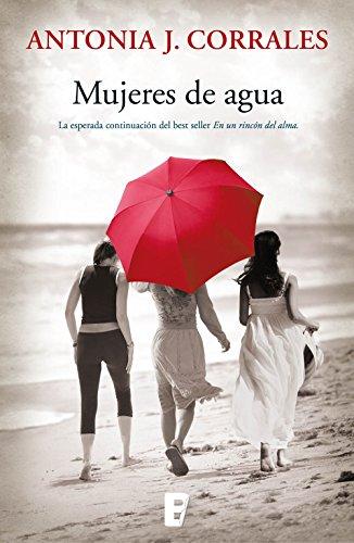 Portada del libro Mujeres de agua de Antonia J. Corrales