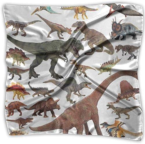 Voxpkrs Bufanda cuadrada modelo grande de dinosaurio fresco ...