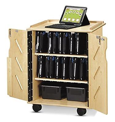 Jonti-Craft 3400JC Laptop and Tablet Storage Cart