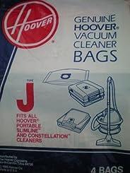 Hoover Type J Bag (4- Bags), 4010010J , Gray