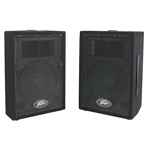 Peavey DJ 2-Way 100 Watt PA Speaker System with 10'' Woofers (2 Speakers) | PVi10 by Peavey