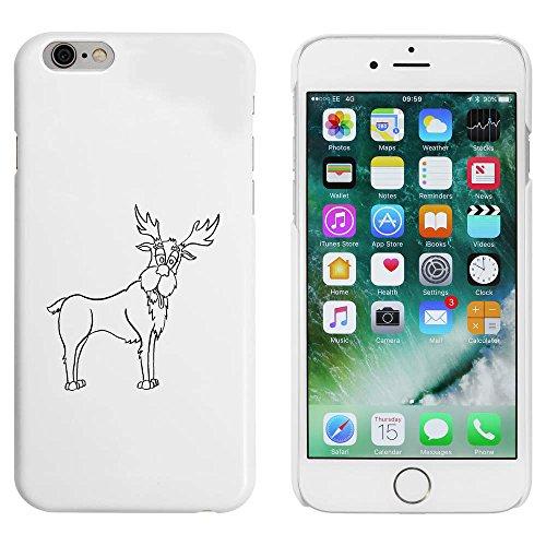 Blanc 'Renne' étui / housse pour iPhone 6 & 6s (MC00005318)