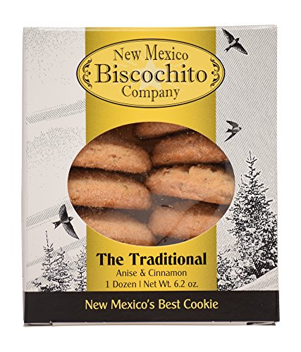 New Mexico Biscochito Company Cookies 2 Pack (Traditional)