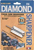 EZE-LAP CSG 5/32 Chainsaw Sharpener with Super Accurate Guide