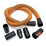 Ridgid 24608 1-7/8-inch Diameter by 10-foot Long  Replacement Hose for Ridgid Vacuums