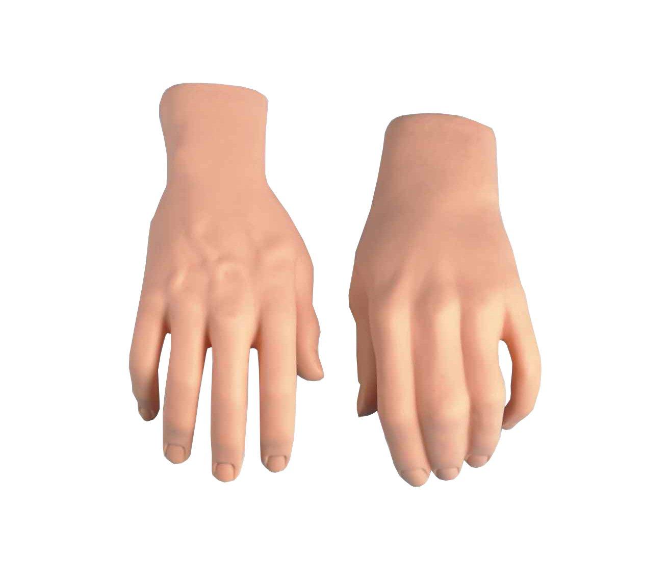 Amazon.com : Rossy&Nancy Practice Flexible Mannequin Hand Nail ...