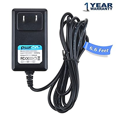 PwrON AC to DC Adapter for Paslode 900200 Impulse Nailer Base Power Supply Cord Cable PS Battery Charger Input: 100-240 VAC 50/60Hz Worldwide Voltage Use PSU