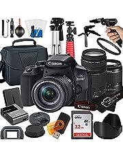 $1089 » Canon EOS 850D / Rebel T8i DSLR Camera with 18-55mm + 75-300mm Lens + 32GB Card + Tripod + Case + MegaAccessory Bundle (22pc Bundle) (SanDisk 32GB)