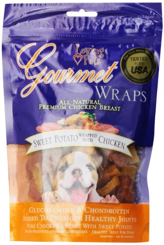 Loving Pets Gourmet Sweet Potato Chicken Wrap (8 - Pets Loving Potato Sweet