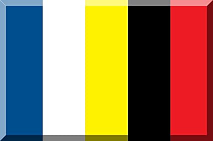 Amazoncom Magflags Large Flag Blue White Yellow Black Red