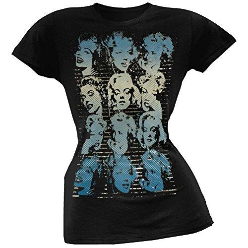 Marilyn Monroe - Many Faces Juniors T-Shirt - Marilyn Monroe Face