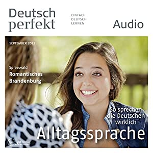 Deutsch perfekt Audio - Alltagssprache. 9/2013 Audiobook