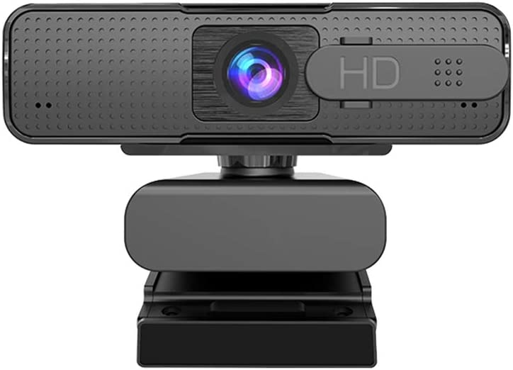 LucaSng Webcam with Microphone, AutoFocus, HD 1080P USB Computer Camera with Privacy Cover for Desktop and Laptop, for Xbox One, Windows, Mac, Zoom, Streaming, Video Calling