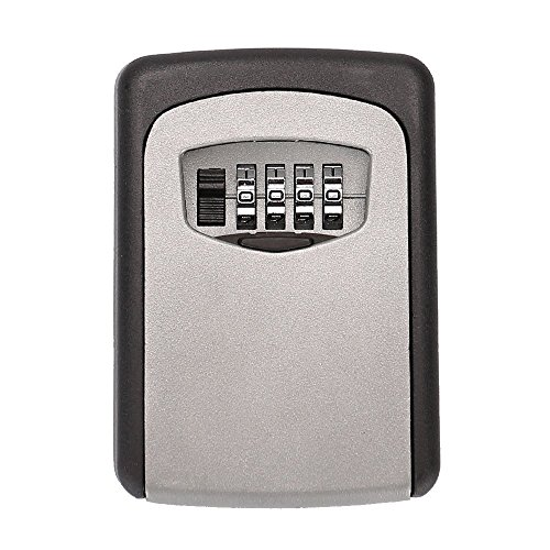 Wall Mount Key Storage Box with Combination Lock (Usps Master Lock)