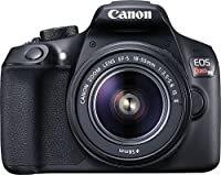 Canon EOS Rebel T6 DSLR Camera + Canon EF-S 18-55mm + Canon EF 75-300mm Lens + 0.43 Wide Angle & 2.2 Telephoto Lens + Macro Filter Kit + 64GB Memory Card + Camera Works PRO Accessory Bundle from Camera Works