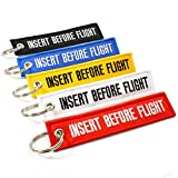 Rotary13B1 Insert Before Flight Key Chains - Multi