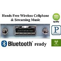 Bluetooth Enabled 1960-1963 Chevy Truck USA-630 II High Power 300 watt AM FM Car Stereo / Radio USB, Aux, iPod inputs