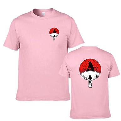TSHIMEN Camisetas Hombre Esprit Naruto Camiseta Ninja para ...