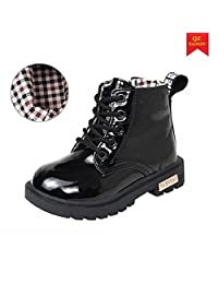 Baby boys girls ankle boots Waterproof snow boots for 2-12 years old kids