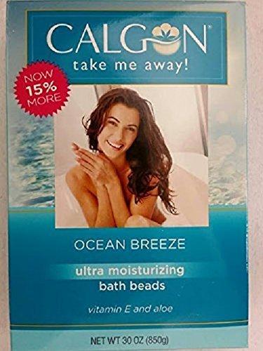Calgon ultra-hydratant perles de bain (Ocean Breeze, 30 onces)