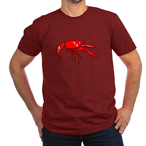 CafePress - Louisiana Crawfish T-Shirt - Men's Fitted T-Shirt, Stylish Printed Vintage Fit T-Shirt Cranberry