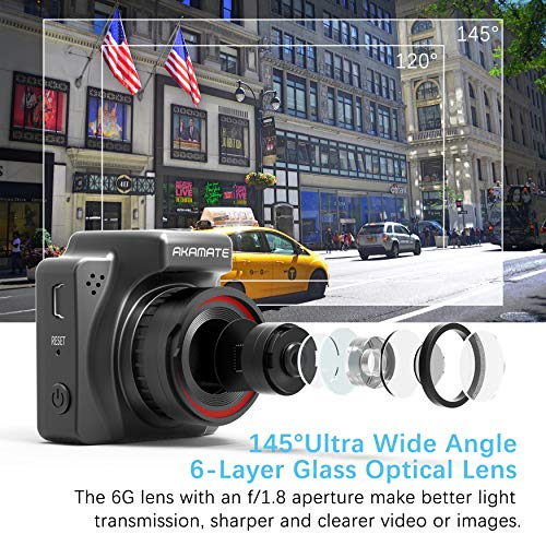 dash cam akamate magnetic dashboard recording camera 1 5 mini dvr car camera full hd 1080p. Black Bedroom Furniture Sets. Home Design Ideas